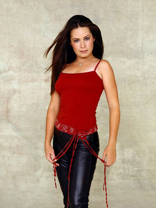 Holly Marie Combs Posing for Charmed