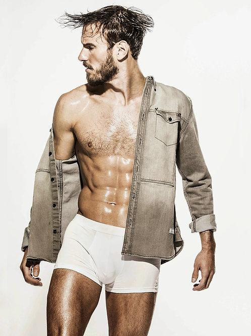 Joe Weir Modeling Boxer Briefs