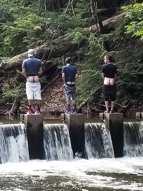 Peeing in the Falls