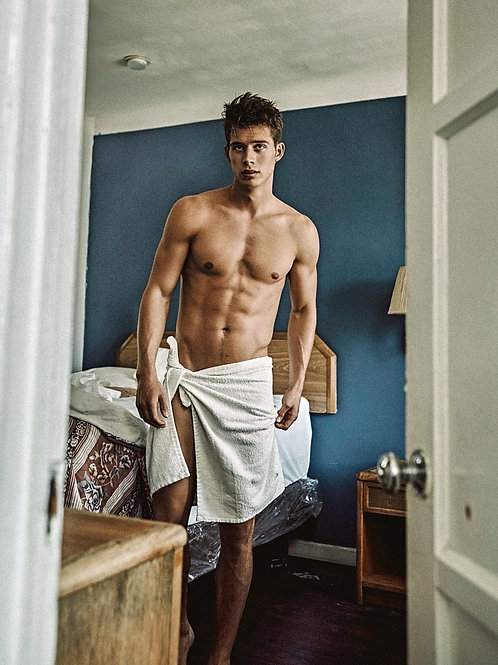 Leif Erik Wrapped in a Towel