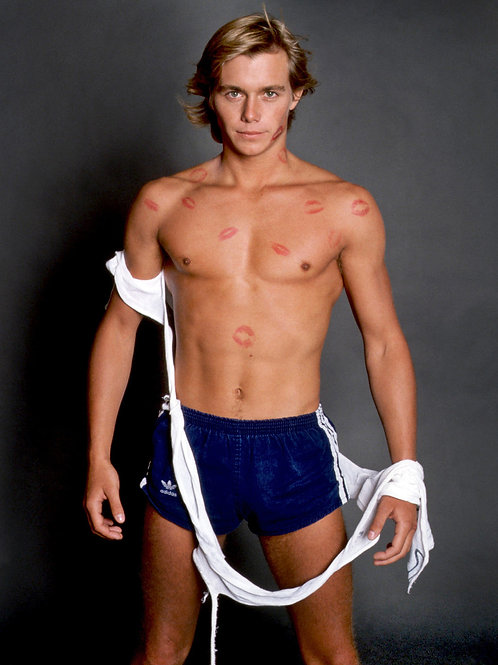 Christopher Atkins Covered in Kisses