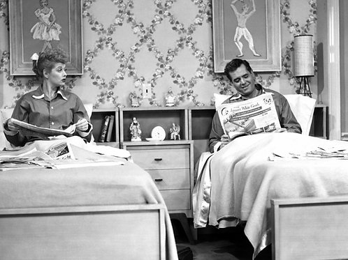 Lucille Ball & Desi Arnez on the I Love Lucy Show