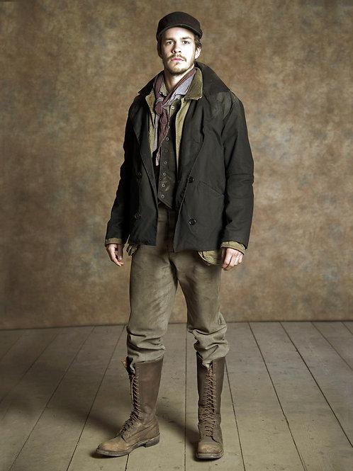 Johnny Simmons as Jack London in Klondike