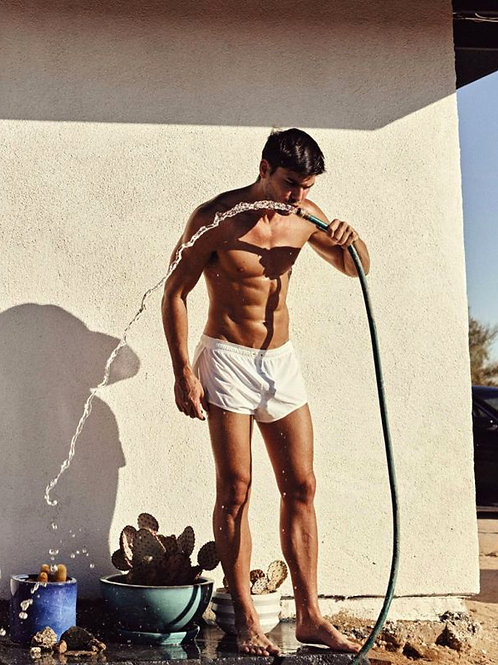 Charlie Matthews Drinking from the Hose