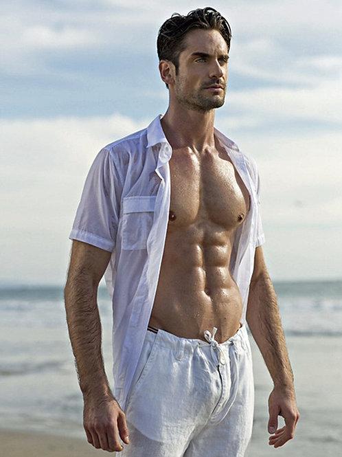 Antonio Lujak at the Beach