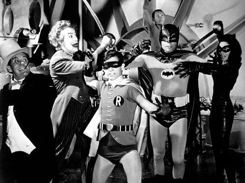 1966 Batman Movie Cast