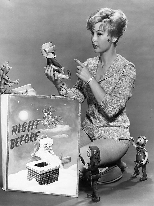 Barbara Eden in the Night Before