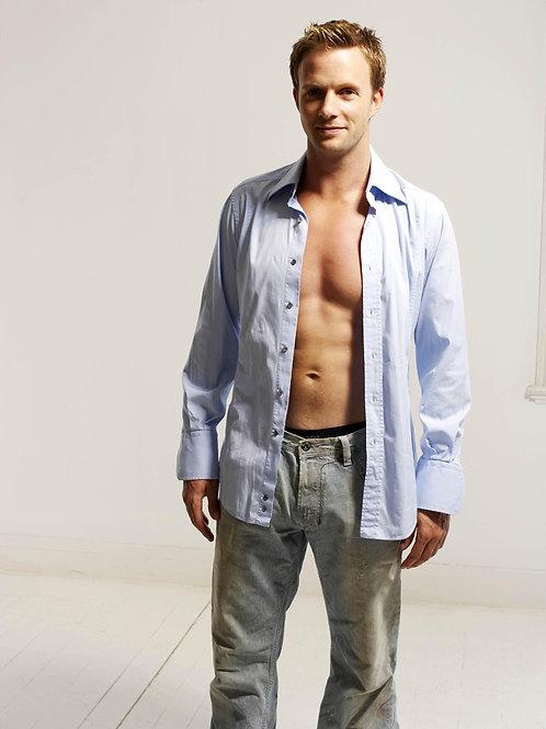 Rupert Penry-Jones Shirt Unbuttoned