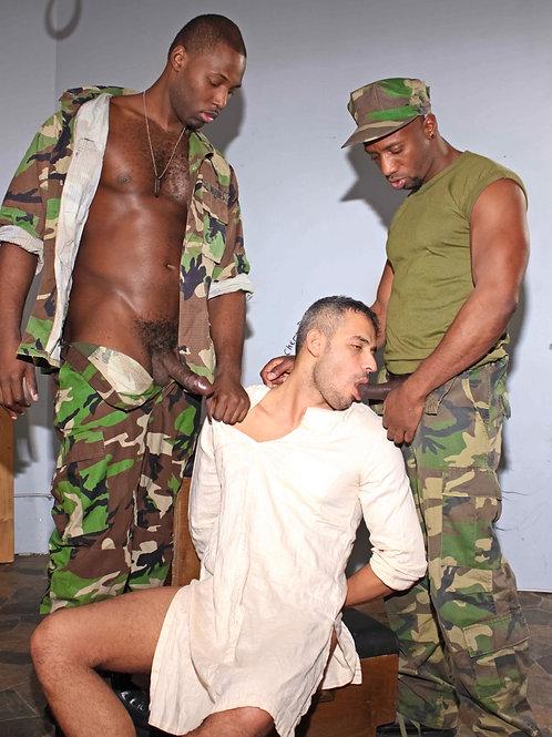 White Soldier Sucking