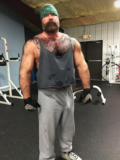Bulging Bear Working Out