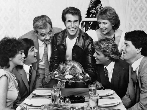 Happy Days Cast at Thanksgiving