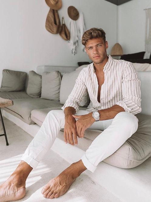 Tobias Reuter on his Sofa