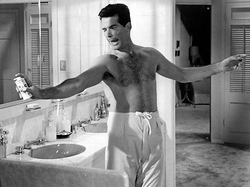James Garner showed off his hairy chest in The Thrill of It All in 1963