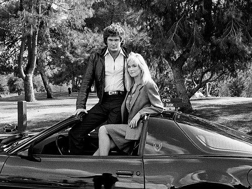 Knight Rider David Hasselfoff with Catherine Hickland