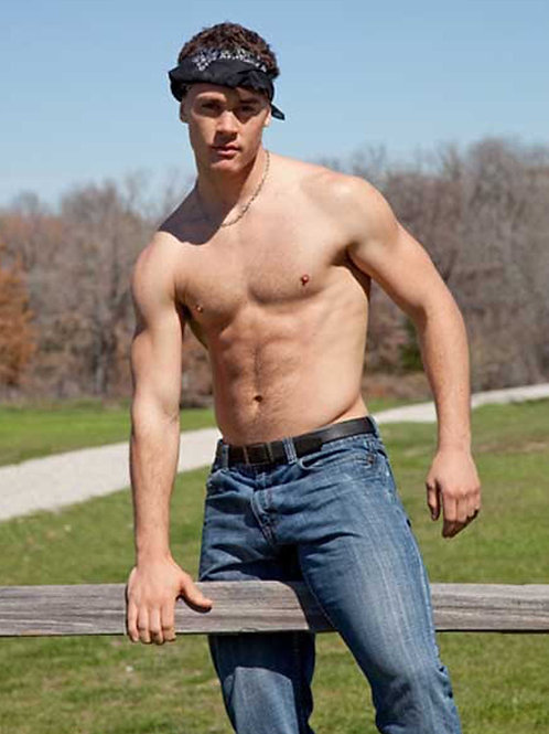 Cole Markum Stradling a Fence