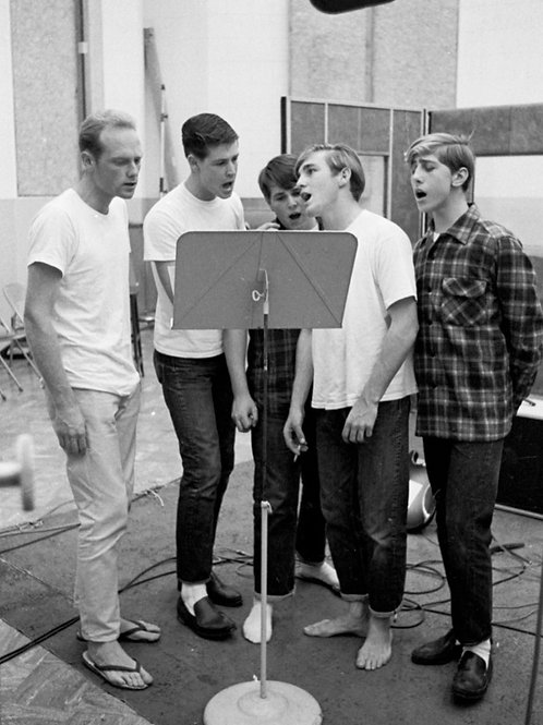 Beach Boys at a Recording Session