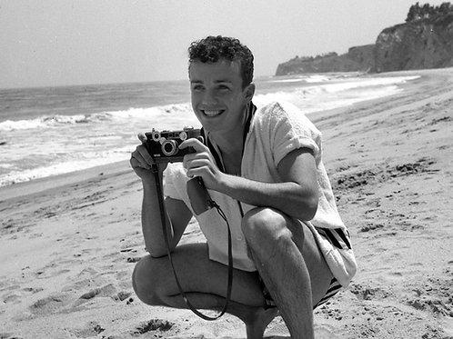 Ben Cooper on the Beach