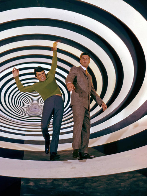 Cast from the TV Show The Time Tunnel