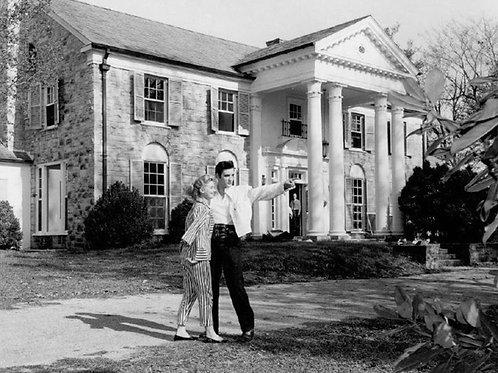 Elvis Presley at Grace Land