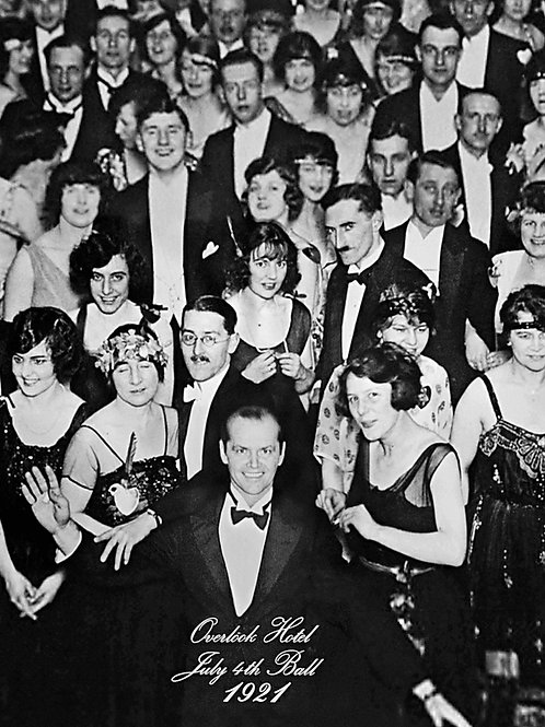 1921 Overlook Hotel with Jack Nicholson From The Shining