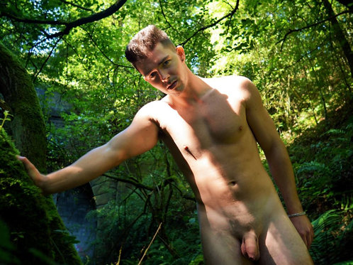 Naked in a Green Forest
