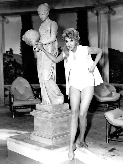 Donna Douglas in the Beverly Hillbillies