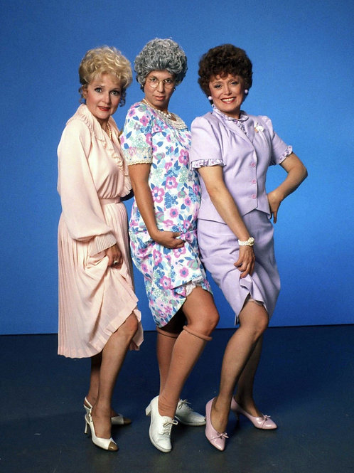 Vicki Lawrence, Rue McClanahan & Betty White