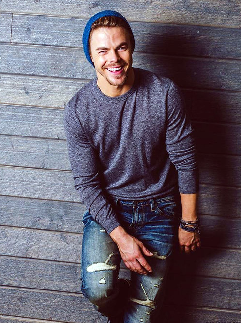 Derek Hough Wearing Torn Jeans