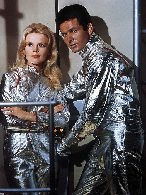 Marta Kristen & Mark Goddard in Lost in Space