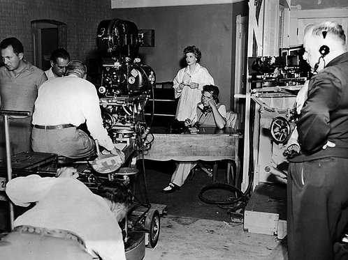 Filming I Love Lucy