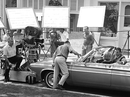 Peyton Place TV Show Filming