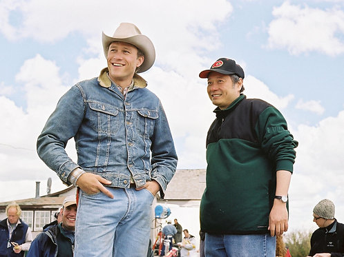 Behind the Scenes of Brokeback Mountain with Bulging Heath Ledger