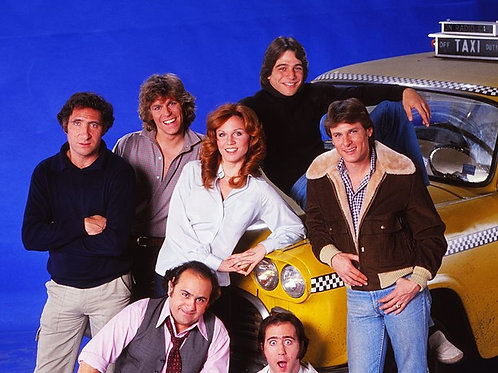 Cast of Taxi with Bulging Randell Carver