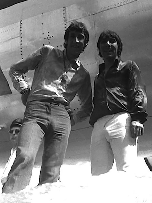Pete Townshend and Keith Moon