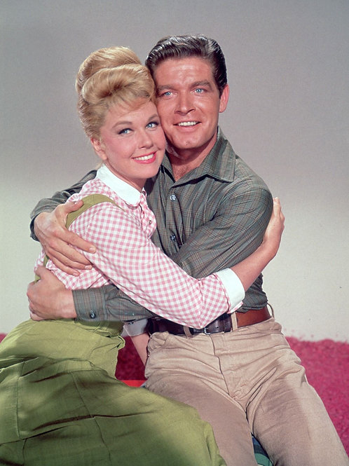 Stephen Boyd with Doris Day