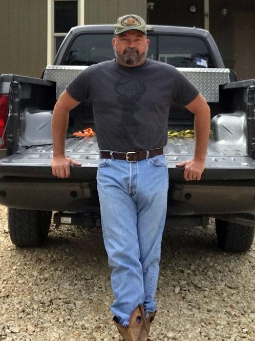 Bulging Redneck Landscaper
