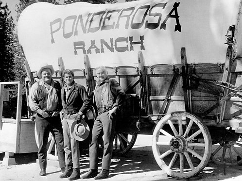 Ponderosa Wagon Train & Cast of Bonanza