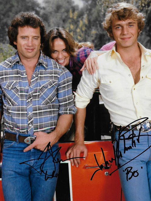 Cast of TVs Dukes of Hazzard in 1979