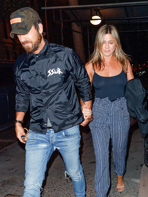 Justin Theroux & Jennifer Aniston out on the Town