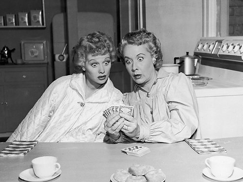 Lucy & Ethel Playing Cards