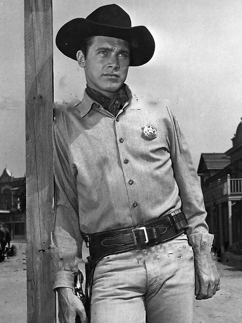 Chad Everett as a Cowboy