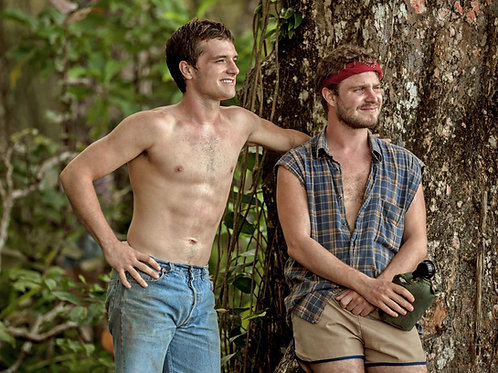 Shirtless Bulging Josh Hutcherson