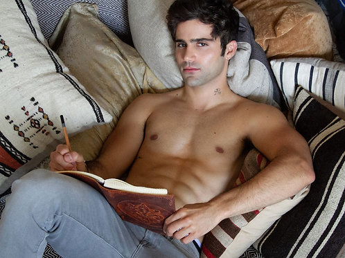 Max Ehrich Relaxing