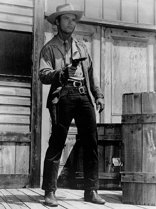 Ty Hardin in Bronco Aiming his Gun