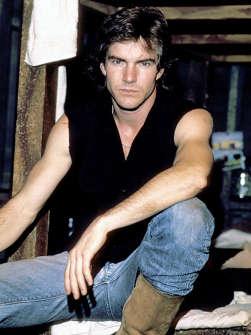 Handsome Dennis Quaid in 1983