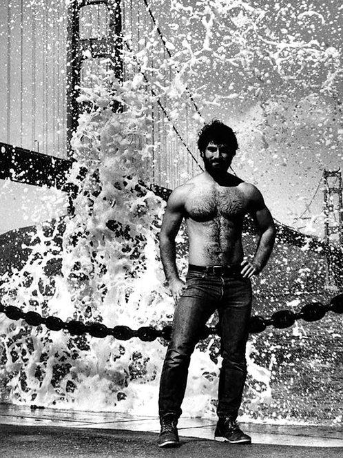 Splash by the Golden Gate Bridge
