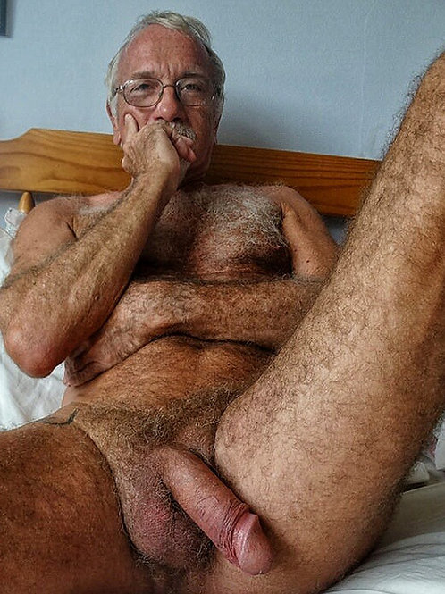 Very Hairy Silver Daddy