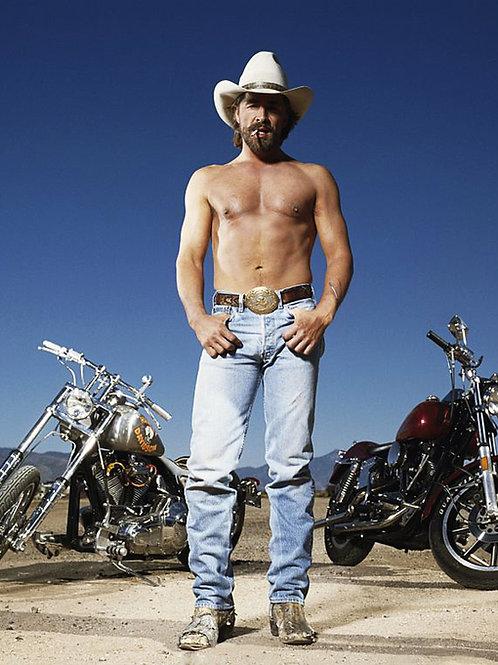 Shirtless Don Johnson