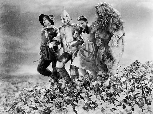 Wizard of Oz Cast in the Poppies