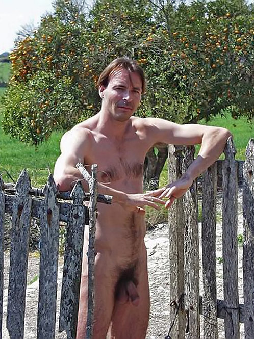 By an Old Picket Fence